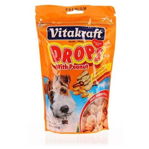 Vitakraft Snack Tasty Time vitakraft drops with peanut healthy snack for dogs