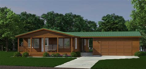 Custom Home Floor Plans Free the alpine cabin modular home with optional garage lone