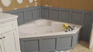 Tiling Ideas For A Bathroom updating tub surround