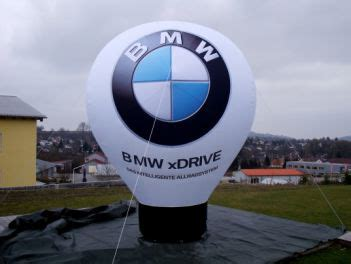 bmw balloon display max standballon 4 0 m