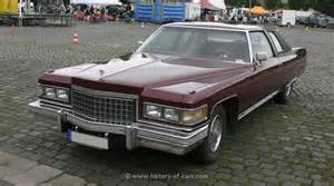 Cadillac Coupe History Cadillac 1976 Coupe The History Of Cars