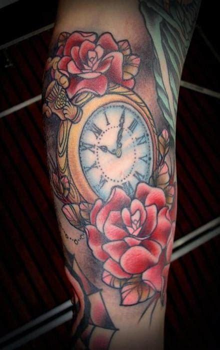 wonderful clock tattoos tattoodo