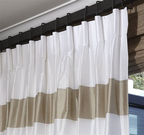 customized drapes pinch pleat drapes parisian drapery pleat diy lined