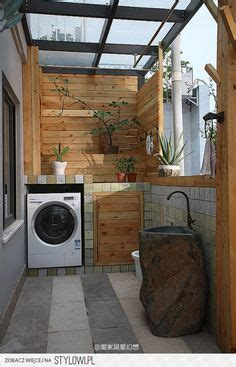 laundry yard design outdoor laundry room build cabinet around washer dryer