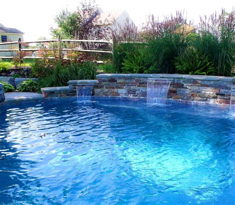 pool fountain ideas diy pool fountain electric great home decor