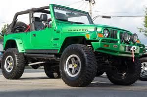 Green Jeep Rubicon 2005 Jeep Wrangler Unlimited Rubicon