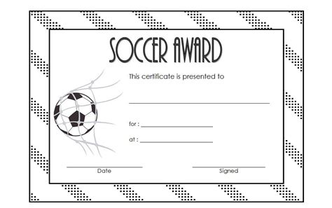 soccer certificate templates for word soccer certificate template 2 the best template collection