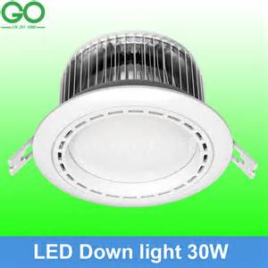 Halogen Ceiling Lights Changing Bulb 30w Led Ceiling Downlight Fins Aluminum Recessed Spot Light 15x2w Ceiling L Replace 200w