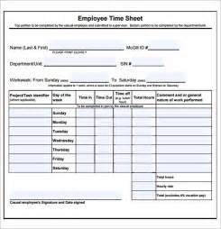 Easy Timesheet Template by Word Timesheet Template Helloalive