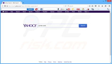 Search On Yahoo How To Get Rid Of Search Yahoo Redirect Virus Removal Guide