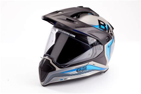 Motorrad Gs Helmet by Product Review Bmw Gs Trophy Helmet 163 450 Mcn