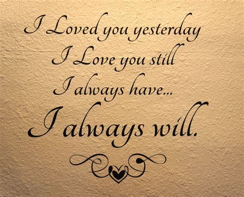 Always Loving by 30 You Quotes For Your Loved Ones