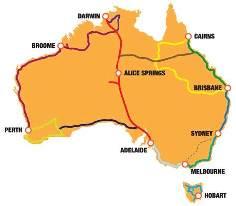 map around australia traveling around australia in a cervan the ideal