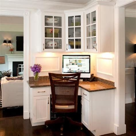 Kitchen Desk Ideas For Small Houses 17 Best Ideas About Small Corner Desk On Pinterest Study