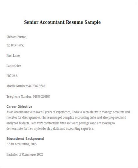 state and clear objectives in chiropractic assistant resume boost your career with accountant resume template