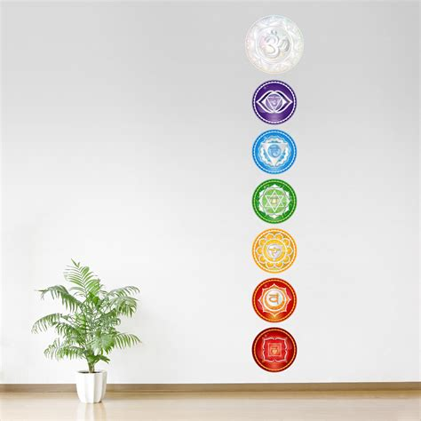 Wall Stickers Family Quotes chakra wall art chakra wall decals wallums