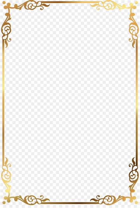 gold pattern frame clip art vector gold pattern frame png download 885