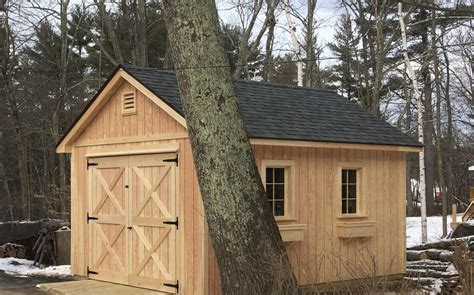 Shed Nh by Vermont Custom Sheds Select Saltbox Pricing