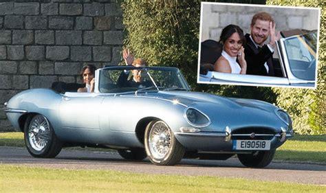 wedding car jaguar e type royal wedding car prince harry and meghan s jaguar e type