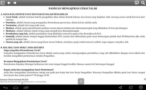 panduan cerai android apps on play