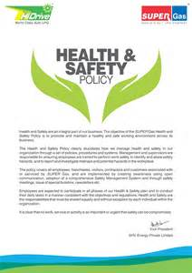 Food Safety Policy Template by Safety And Health Policy For Employees Franchisees