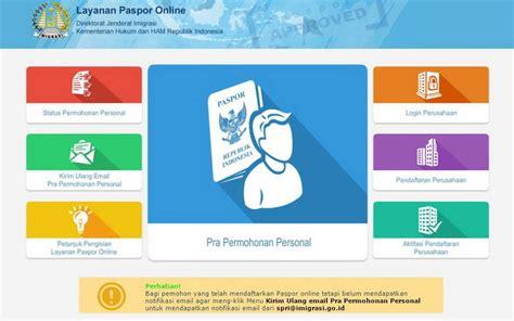 buat ktp via online cara buat paspor online yang mudah dan cepat cermati