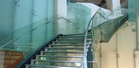 custom glass stairs glass staircases  railings florida