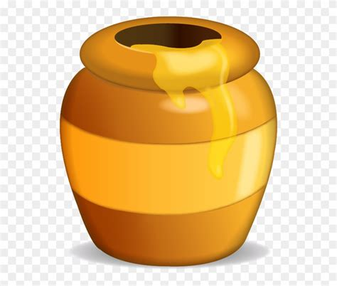 Pot Of Honey Clipart