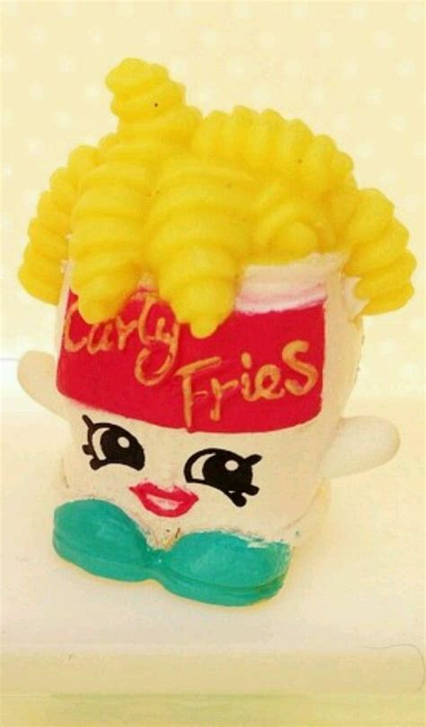 Firgure Shopkins Season 6 Seri A shopkins season 1 curly fries exclusive limited edition