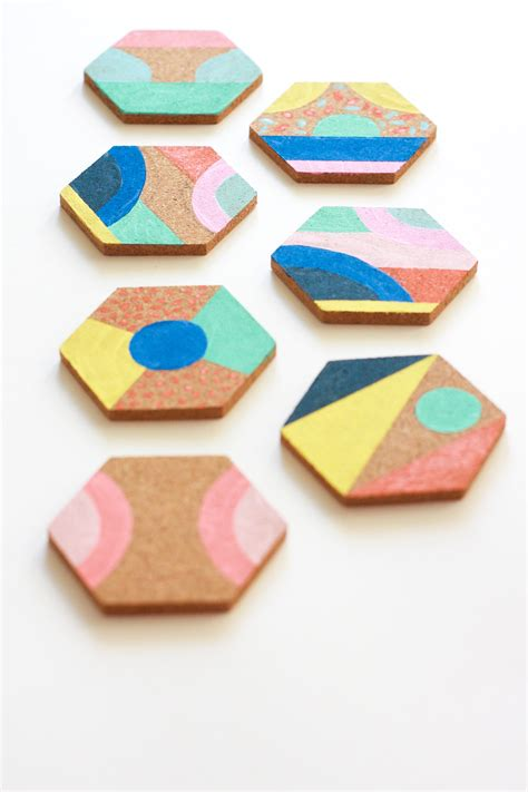 coasters diy colorful coasters diy jest cafe