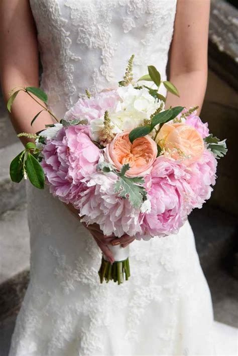 david austin mixed pink bridal bouquet summer wedding flowers passion for flowers