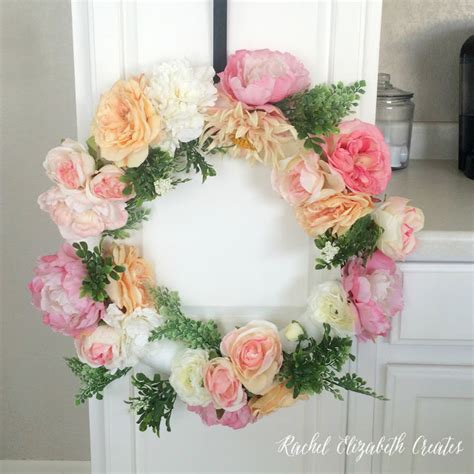 diy spring wreath diy spring wreaths archives shelterness