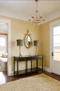 Oval Mirrors For Bathroom Vanities - country foyer traditional entry richmond by cabell design studio