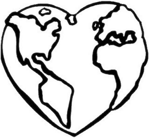heart earth coloring pages coloring cabin april 2011