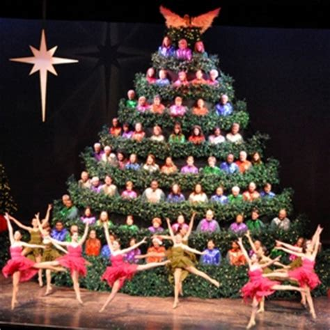 the 59th annual singing christmas tree the singing