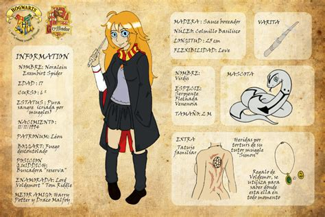 harry potter oc noralein exembirt spider by rukawa93 on
