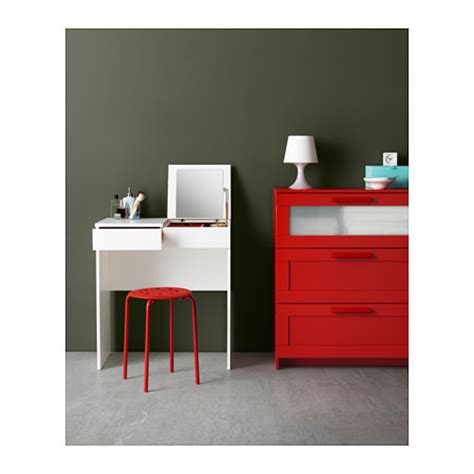 Ikea Vanity Table With Mirror And Bench Brimnes Dressing Table White 70x42 Cm Ikea