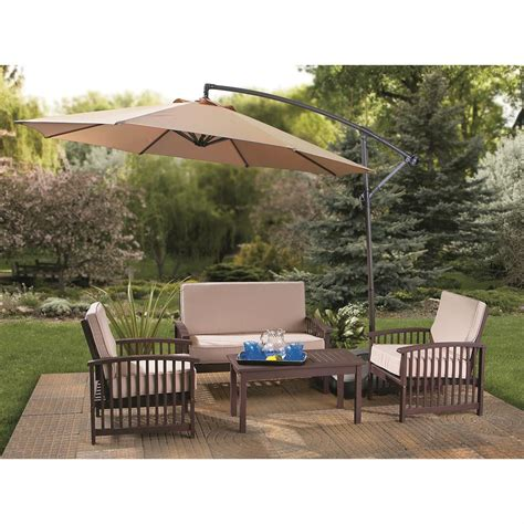 Patio Umbrella Patio Table Patio Umbrellas Costco Patio Set With Umbrella Sale