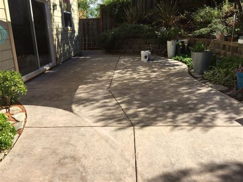 Concrete Patio Sealant by Concrete Stain And Sealer Patio Makeover Cheng Concrete