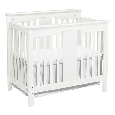 Annabelle Mini Crib White White Convertible Crib Million Dollar Baby White Crib Broyhill Bowen Heights 4in1