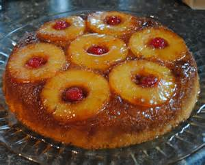 sunla designs recipe pineapple upside down cake in an iron skillet