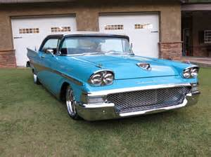 1958 Ford Fairlane 1958 Ford Fairlane Custom Leather Interior