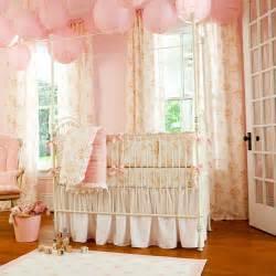 Shabby chenille crib bedding pink floral baby girl crib bedding carousel designs