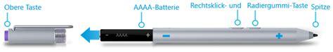 3 surface pro pen batteries problembehandlung f 252 r microsoft surface stift