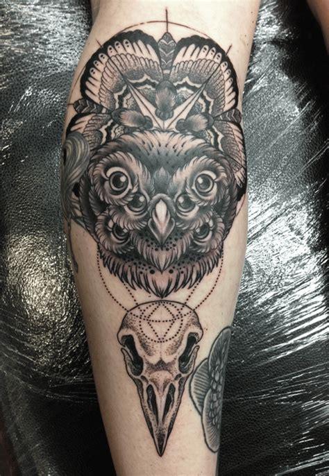 tattoo owl geometric uncategorized mark lonsdale
