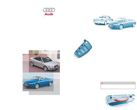 Bedienungsanleitung Audi by Audi A4 Bedienungsanleitung Auto Bild Idee