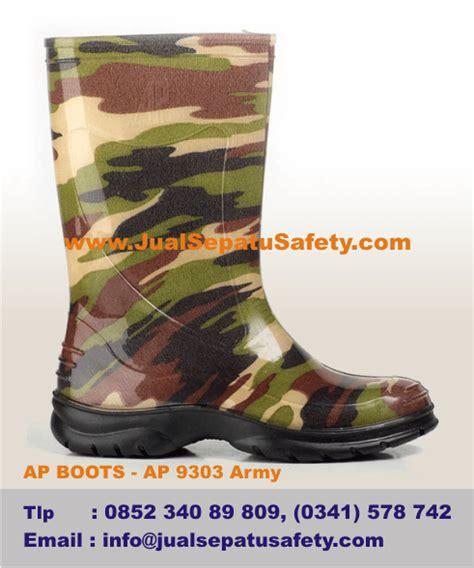 Sepatu All Army gambar boots tentara untuk anak sepatu karet loreng