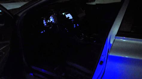 Interior Lights by 2013 Hyundai Sonata Se Custom Blue Led Interior Lighting