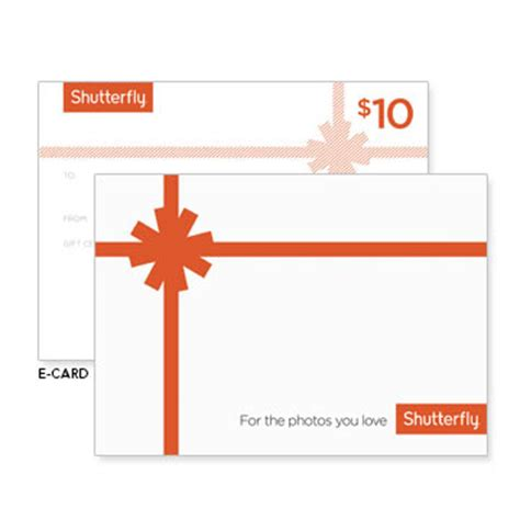 Shutterfly Gift Cards In Stores - gift certificates shutterfly