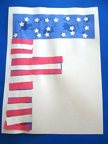 flags of the world lettering letter of the week flag f fine motor american flag